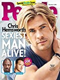 img - for People Magazine - Sexiest Man Alive - Chris Hemsworth book / textbook / text book