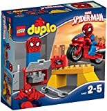 LEGO Spiderman - Set El taller de la moto araña, multicolor (10607)
