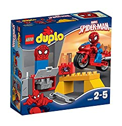 Lego Duplo Spider Man Web Bike Workshop Figure, Multi Color