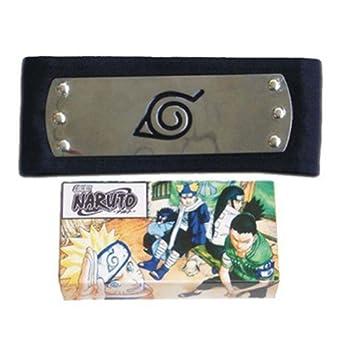 Waltzmart Naruto Leaf Headband Cosplay Accessory
