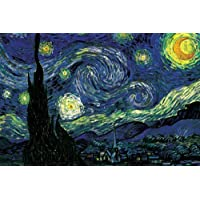 Seven Rays 'Starry Night By Vincent Van Gogh' Poster (12'X18')