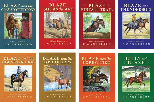 Image for Billy and Blaze Volumes #1-#8 Set of 8 Blaze and the Forest Fire Lost Quarry Mountain Lion Thunderbolt Blaze Finds the Trail Shows the Way Gray Spotted Pony