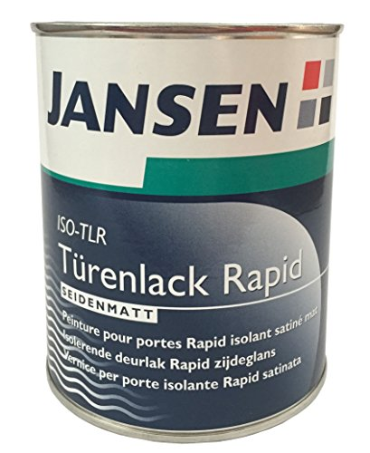 jansen t renlack rapid wei seidenmatt 750ml. Black Bedroom Furniture Sets. Home Design Ideas