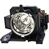 V7 VPL1660-1N 220 W Repl Lamp For Hitachi CPX201 X301 X401LAMP CP-X200 CP-X300 DT00841 - 220W Projector Lamp - UHB - 3000 Hour Economy Mode