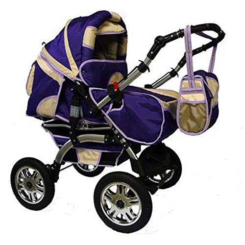 preisvergleich und test kinderwagen kombikinderwagen buggy hartgummmir der szymek lux 03. Black Bedroom Furniture Sets. Home Design Ideas