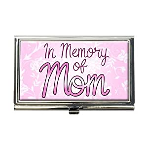 Amazon In Memory of Mom Business Credit Card Holder