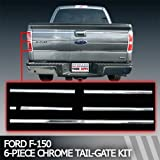 51ApQw2VhUL. SL160  2009 2011 Ford F 150 Chrome Tail Gate Trim 6 Piece Kit