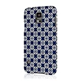EMPIRE Signature Series Slim-Fit Navy Blue Knots Case for Samsung Galaxy S5/GS5