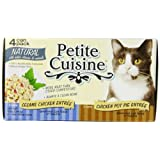 Petite Cuisine Variety Pack (Sesame Chicken & Chicken Pot Pie) for Cats, 3-Ounce Cans (Pack of 24) ~ Petite Cuisine