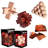 Puzzles and Teasers Mini Wooden Puzzle Brain teaser