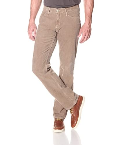 Earnest Sewn Men's 5 Pocket Straight Jean  [Khaki]