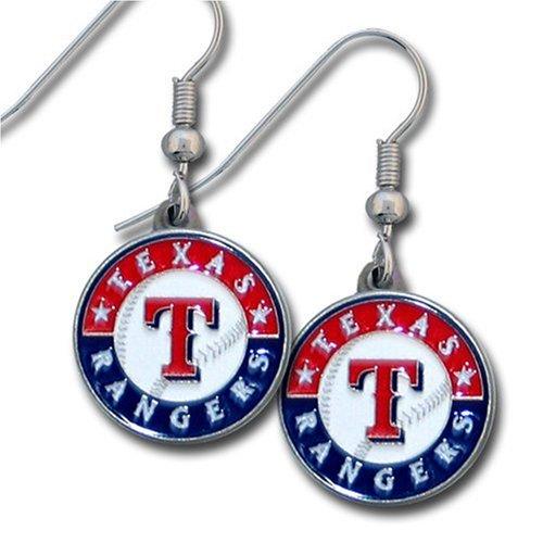 MLB Texas Rangers Dangle Earrings