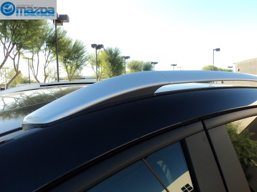 MAZDA CX-5 SKYACTIV 2013 NEW OEM ROOF RACK AND CROSS BARS SET (Mazda Cx5 Roof Rack compare prices)