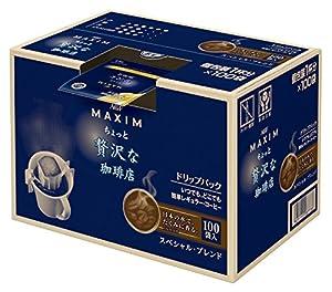 AGF マキシム レギュラーコーヒー ドリップパック ちょっと贅沢な珈琲店 豊かなコクのスペシャルブレンド 100P