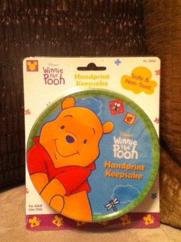 Disney Winnie the Pooh Handprint Keepsake - 1