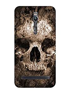 In Goth We Trust - Hard Back Case Cover for Asus Zenfone 2 - Superior Matte Finish - HD Printed Cases and Covers