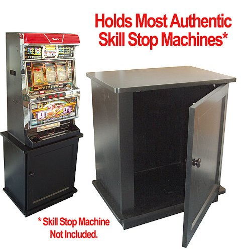 Trademark Global 14-CAB2 Solid Wood Slot Machine Cabinet