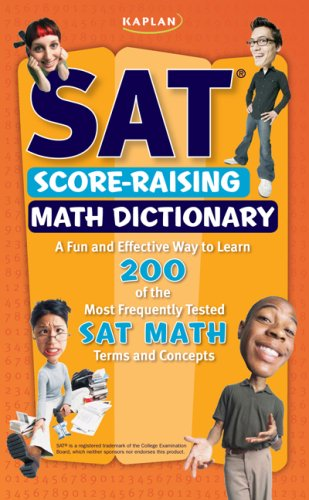 Kaplan SAT Score-Raising Math Dictionary