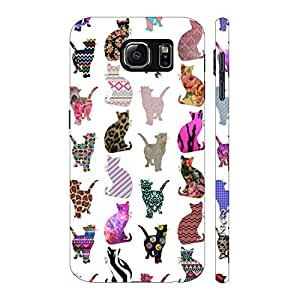 Enthopia Designer Hardshell Case Cats Cats Cats Back Cover for Samsung Galaxy Note 6