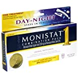Monistat 1 Day or Night Vaginal Antifungal, Combination Pack