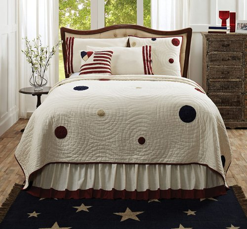 American Parade Quilt - Queen front-643468