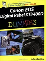 Canon EOS Digital Rebel XTi/400D For Dummies Front Cover