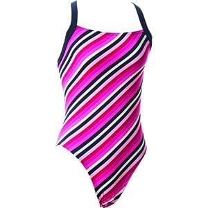 59a1f91c7e Blueseventy Blueseventy Energy Stripe One Piece Women's Swimsuit Pink  Stripe 30 Pink Stripe 30 Sports & Outdoors
