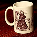 Beenthere Bull Temple Ceramic Mug