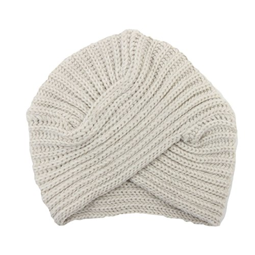 Century Star Crossed Bohemian Style Knitted Winter Thicken Beanie Basic Hat Caps Beige (Captain America Bucket Hat compare prices)