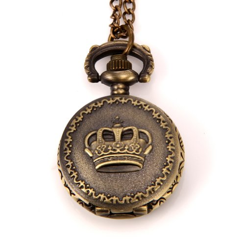 JewelryWe-Christmas-Gift-Steampunk-Pocket-Pendant-Watch-Vintage-Crown-Design-on-Lid-with-30-Chain-Long-Sweat-Necklace-with-Gift-Bag