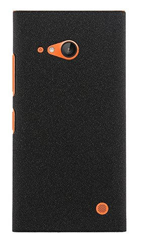 PES Slim Fit Sandstone (Soft) Texture Anti Scratch Snap-On Back Case Cover For Nokia Lumia 730 Dual SIM  available at amazon for Rs.165