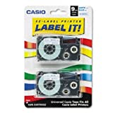 Casio Inc. XR9WEB2S Tape Cassette for Label Printer