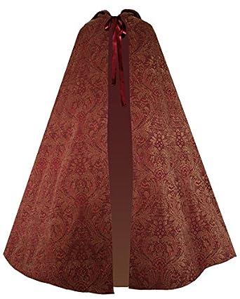 Victorian Vagabond Historical Steampunk Gothic Renaissance Cape Cloak $113.00 AT vintagedancer.com