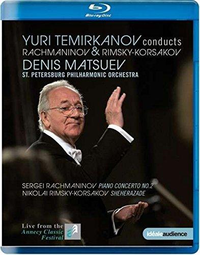 Blu-ray : Yuri Temirkanov Conducts Rachmaninov & Rimsky