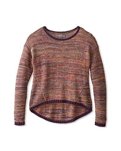 Michael Stars Women's High-Low Crop Sweater