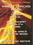 img - for Magic Tracks Karaoke Super CD+G 1200 Songs Plays on CAVS or Windows System with DVD ROM Sweet Georgia Brown book / textbook / text book