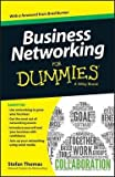 img - for Business Networking for Dummies (Paperback)--by Stefan Thomas [2014 Edition] book / textbook / text book