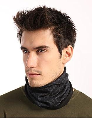 Fleece Neck Warmer [Tactical] - Reversible Neck Gaiter Tube, Ear Warmer Headband, Mask & Beanie. Ultimate Thermal Retention, Versatility & Style. Performance Comfort Fleece & Microfiber Construction