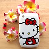 Hello Kitty red dress sit down Hard Case Cover for Blackberry Curve 8520 8530 9300 Reviews