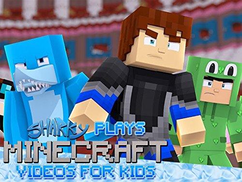 Clip: Sharky Plays Minecraft