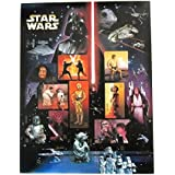 Star Wars Collectible Sheet of Fifteen 41 Cent Stamps Scott 4143