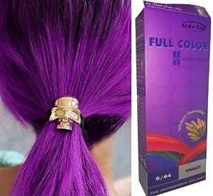 teinture coloration cheveux permanente goth emo elfe cosplay violet 0 44 beaut et. Black Bedroom Furniture Sets. Home Design Ideas