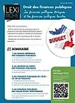 Droit des finances publiques : Les fi...