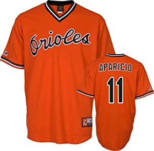 Luis Aparicio Baltimore Orioles Replica Cooperstown Jersey by Majestic by Majestic