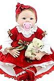 NPK Collection Mu�eca beb� reci�n nacido 22inch 55cm, mu�eca realista beb� reci�n nacido de juguete regalo para ni�as princesa juguetes para ni�os regalo de cumplea�os regalo de navidad