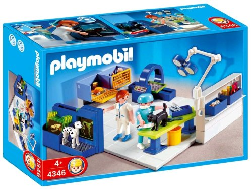 Jouet : Playmobil - 4346 - Cabinet vétérinaire