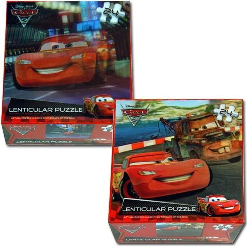 CelebrateExpress Disneys Cars Lenticular Puzzle - 1