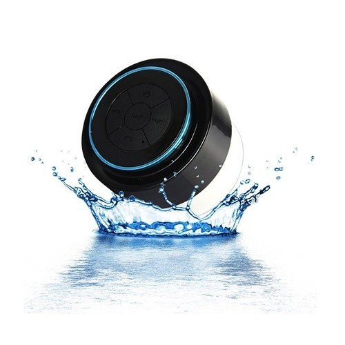 Waterproof Bluetooth Swimming Pool Floating Speaker - Great For Pool And Bath