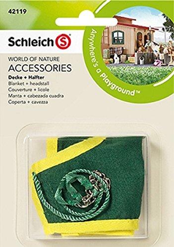 Blanket + Headstall (Green)