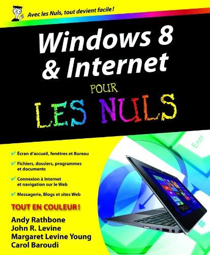 Windows 8 et Internet Pour les Nuls en ligne